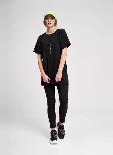 Mizalle Youth Tişört Siyah